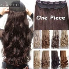 """Hair Extension FACTORY PRICE 18-28"""" 45-70CM 100% Real Natural Hair Extention 3/4 Full Head Clip in Hair Extensions Curly/Curly US UK Fast SHIP *** AliExpress Affiliate's Pin. Detailed information can be found by clicking on the VISIT button"""