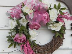 Pink Peony & White Rose 20 All Occasion by TreasureiTbyDonna