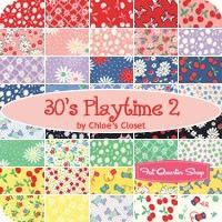30's Playtime Layer Cake Chloe's Closet for Moda Fabrics