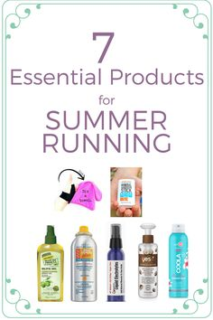7 Essential Products for Summer Running