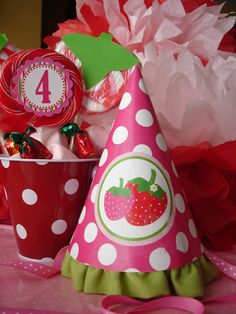 Strawberry Shortcake Party - Giggles Galore