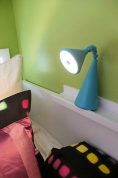 Whether reading in bed - or looking for monsters under it – the FRYEBO rechargeable LED lamp is a safe and friendly companion for kids.