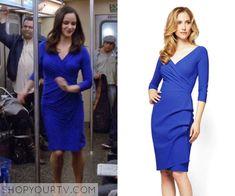 BROOKLYN NINE-NINE: SEASON 2 EPISODE 20 AMY'S BLUE WRAP DRESS