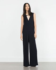 Image 1 of LOOSE-FIT JUMPSUIT from Zara