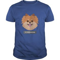 Pomeranian Great Gift For Any Dog Lover Fan T-Shirts, Hoodies. CHECK PRICE ==► https://www.sunfrog.com/Pets/Pomeranian-Great-Gift-For-Any-Dog-Lover-Fan-Royal-Blue-Guys.html?id=41382
