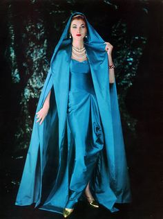 Grès 1957 Evening Gown, Photo Pottier