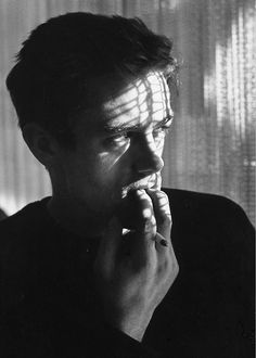 James Dean photographed by Roy Schatt, 1954.