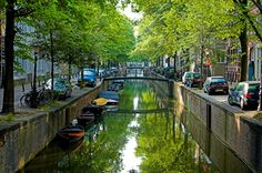 Amsterdam Canals celebrates its 400th anniversary in 2013. Canals is one of the things Amsterdam is known for.