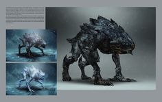 Wild Hunt Hounds Concept - Witcher 3 by PlanK-69