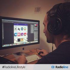 Notre product manager/ux est en pleine concentration ! #design #application
