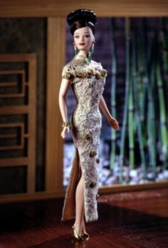 Golden Qi-Pao™ Barbie® Doll | more-world-culture-dolls | The Barbie Collection