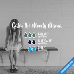 Calm the Moody Mama - Essential Oil Diffuser Blend