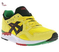 Gel DS Trainer 21, Chaussures de Running Compétition Femme, Noir (Black/Flash Coral/Silver), 41.5 EUAsics