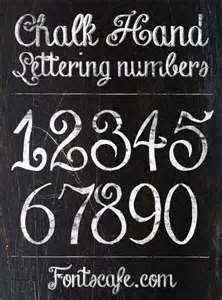 Chalk Hand Lettering Font :-D