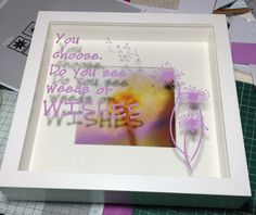 Vinyl on glass, available in wide range of colours from www.facebook.com/mc2crafts