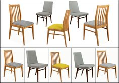 Chairs - Vintage / Retro. Vintage items of best origin with fresh modern look. Still perfect for contemporary interior.