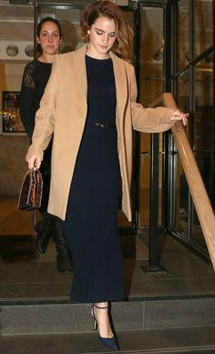 """Emma Watson - """"The True Cost"""" London Screening - Gabriela Hearst"""