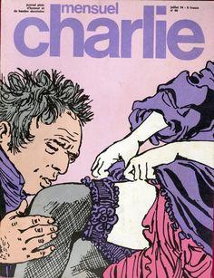 Charlie Mensuel - # 66 - Juillet 1974 - Couverture de Crepax