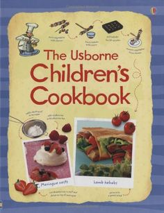 Children's Cookbook by Rebecca Gilpin for olivia