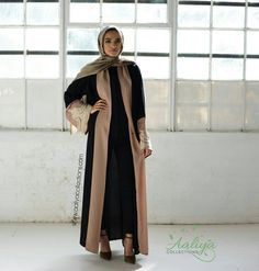Aaliya Collections: Islamic Clothing, Abayas, Hijabs, Jilbabs and modest wear Modest Fashion, Hijab Fashion, Abaya Designs, Modest Wear, Girl Hijab, Islamic Clothing, Abayas, Kaftans, Fashion Brand