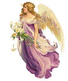 Glanzbilder - Victorian Die Cut - Victorian Scrap - Tube Victorienne - Glansbilleder - Plaatjes : Engel zusammengefasst