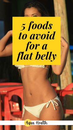 Do you ever wonder what's keeping you from losing belly fat? I have a list of 5 foods that you should avoid if you are on any type of diet. These foods are probable the main reason you are not losing belly fat. So if you want to get a flat belly and lose weight, stay away from these bad guys, which are high in cholesterol, calories and fats. #foodstoavoid #foodstolosebellyfat #weightlosstips