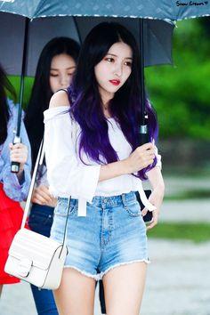 Sinb Gfriend, Gfriend Sowon, Snow Cream, Music Photo, Girl Group, Denim Skirt, Photoshoot, Fairies, Kpop