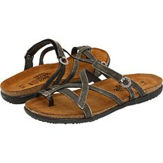 Naot sandles. Great arch support and really cute!