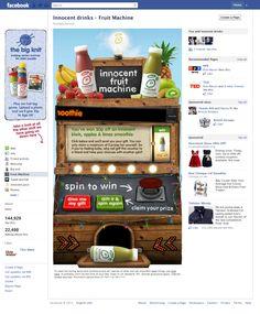 Innocent drinks facebook app
