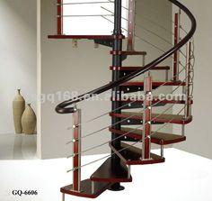 House interior attic spiral staircase $75~$90