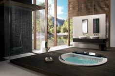 25 designs for indoor and outdoor jacuzzi provide spa experience ever
