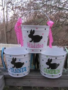 Grate idea for personal Easter baskets for kids