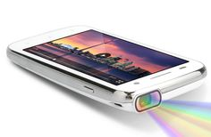 4.5 Inch HD Screen Projector Mobile Phone - Android 4.2 OS, 1.0GHz Dual Core Processor, DLP 35 Lumens