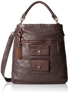 Liebeskind Berlin Fenja Hobo Bag, Red/Brown, One Size