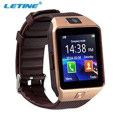 LETINE Smartwatch DZ09 GT08 GT88 A1 Inteligente Reloj 2017 de Los Hombres con La Cámara del Bluetooth Apoyo TF SIM para Apple Smartfone Android teléfono