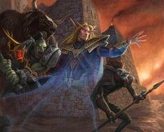 #wowtcg #warcraft #bloodelf #orc #tauren #troll #mage