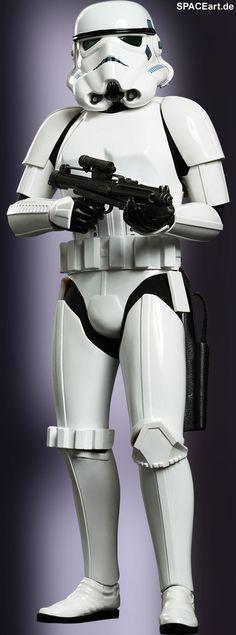 Star Wars: Stormtrooper, Voll bewegliche Deluxe-Figur ... http://spaceart.de/produkte/sw037.php