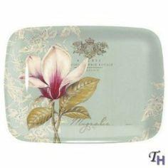 vintage toil trays | Pimpernel Vintage Toile Large Melamine Tray - Serving Trays at ...