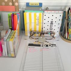 (Like clear containers so you can see your paper choices. ) Planning organization.  Site not open.