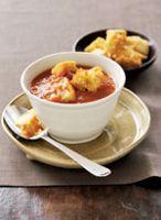 Tomato and Garlic Bread Soup