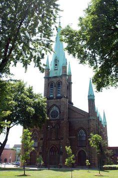 Assumption Church at the Univ. of Windsor Campus, Windsor, Ontario Canada