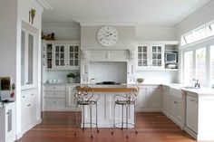 Kitchen Barstools - French Provincial Kitchens in Sydney Loulou Barstools www.leforge.com.au