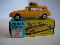 Annons på Tradera: Citroén Safari ID19 Wild Life Preservation - Corgi Toys No. 436