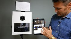 How to build a DIY cardboard photo booth with iPad kiosk and wireless pr...