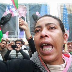 Maroc Top News عاجل #المغاربة_يغضبون_للقدس مسيرة مليونية بالمغرب #مسيرة_الغضب ضد ترامب و#نصرة_القدس تخترق شوارع الرباط