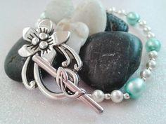 June Birthstone Pearl Bracelet~ by ThreeSistersEmporium