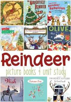 Our Favorite Christmas Reindeer Books for Kids Santa and his eight tiny reindeer will start making their rounds soon! Today, however, you can read these reindeer picture books to your favorite kids! Christmas Books For Kids, Toddler Christmas, Christmas Writing, Christmas Boxes, Christmas Tables, Nordic Christmas, Modern Christmas, Preschool Christmas Activities, Preschool Books