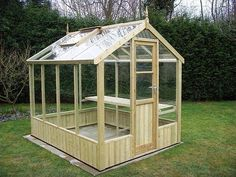 Swallow GB 6ft x 8ft Greenhouse with Toughened Glass delivered and erected for you.