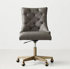 20 Stylish and Comfortable Computer Chair Designs Desks Tufted