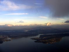 """That little """"foot"""" of land in the bottom right is Mercer Island. I want to live there."""